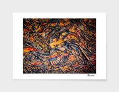 Giclee art print on heavyweight Fine Art paper, 310gsm, acid-free, 100% cotton, using archival Ultrachrome K3 inks. All prints are manually numbered, signed, embossed and shipped with a certificate of