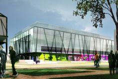 Centre sportif - ZAC Pajol | Paris 18