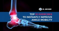 Are ankle mobility issues limiting your ability to train effective, or worse, predisposing you to injuries? Here are 10 exercises to help you improve your ankle mobility quickly and effectively.These drills will address potential joint restrictions, soft tissue tone and tightness, and of course teach you how to incorporate movement to solidify your new found ankle