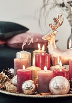 🌟The most WONDERFUL time of the YEAR🌟 Unser WestwingNow WeihnachtsShop ist ab sofort online! Dort findest Du alles, was Du … Christmas World, Christmas Candles, Cozy Christmas, Christmas Balls, Christmas Time, Christmas 2017, Xmas, Decoration Branches, Branch Decor