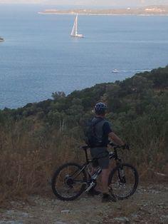 Views over to Skorpios Island, Lefkas, Greece www.getactivelefkas.com