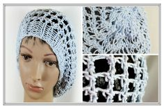 Three Step Stitch Slouchy Hat on any Extra Large Knitting Loom