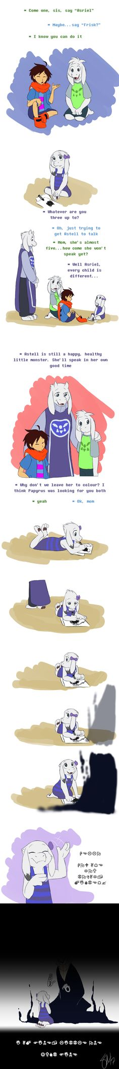 Siblingtale - Astell's new friend by TC-96<< ok I usually don't like these comics but whoa