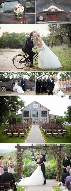 country rustic wedding. This is in Austin and this is the place I would love to say my I DO's