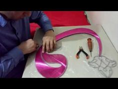 Filografi Nasıl Yapılır ( Teğet Örme Tekniği ) - YouTube