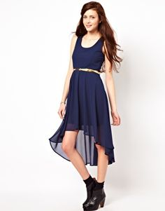 Image 1 of Vero Moda Hi Low Dress