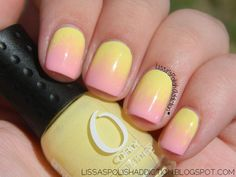 Lissa's Polish Addiction: Pink Lemonade Gradient + Tutorial! - Mission Untrieds #7