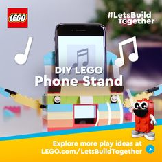 Looking for fun ideas to do? On the LEGO® page you can find inspirational LEGO DIY videos, LEGO apps and Lego Activities, Craft Activities For Kids, Summer Activities, Lego Projects, Projects For Kids, Legos, Lego App, Lego Craft, Lego Building