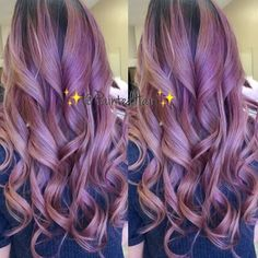 Rooty Purple Painted Hair☺️. Results ALWAYS vary and sessions required ❤️. Appointment information text  916-228-0452  To be placed on my list for upcoming class dates  or if you're a salon interested in hosting future classes with me please email me your name and info  Paintedhair1@gmail.com  Also follow @anjna916 and @paintedmakeup