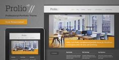 Download and review of Prolio, a Powerful Portfolio WordPress Theme, one of the best Themeforest Creatives themes {Download & review at Review and download at} { -> }http://best-wordpress-theme.net/prolio-a-powerful-portfolio-download-review/