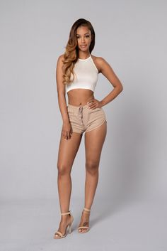 Expedition Shorts - Khaki | Fashion Nova