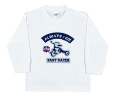 Baby Clothing - Collection: 2014 Fall/Winter  Name: Fast Lane Tee. Available in 4 colors.