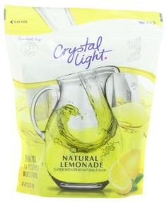 Crystal Light Pitcher Pack, 16 Count Lemonade $4.13 + possible extra 30% off! - http://www.pinchingyourpennies.com/crystal-light-pitcher-pack-16-count-lemonade-4-13-possible-extra-30/ #Crystalight