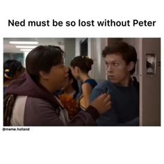 Ik right #peter #parker #peterparker #spiderman #tom #holland #tomholland #thomasstanleyholland #thomasholland #ned #jacob #spidermanhomecoming #homecoming #movie #movies #marvel #avenger #avengers #infintywar #avengersinfinitywar #bestfriend #bestfriendgoals