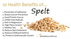 Health Benefits of Spelt Health And Nutrition, Health And Wellness, Health Diet, Bone Health, Mental Health, Herbal Cure, Healing Herbs, Holistic Healing, Healthy Tips