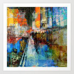 contemporany,abstract,city,New-York