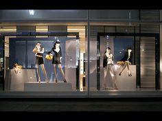 Visual: CHANEL - Vidrieras de Tokyo