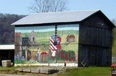 Painted Barns