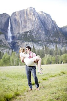 Yosemite is truly the perfect backdrop for a #wedding! From http://stylemepretty.com/2012/06/11/picnic-wedding-at-yosemite-national-park-by-brooke-beasley-photography/  Photo Credit: http://brookebeasleyphotography.com/