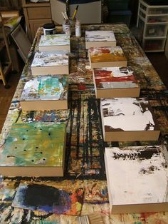 """Abstract Paintings New beginnings.... """"Sometimes it's necessary to just make a start."""""""