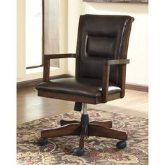 Signature Design by Ashley Home Office Desk Chair | Overstock.com Shopping - The Best Deals on Office Chairs