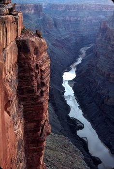 view of colorado river from tuweep; Camping near the Grand Canyon