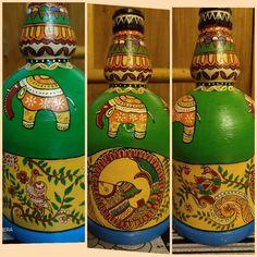 Kitsch Art, Kitchen Utilities, Madhubani Art, San Pellegrino, Objects, Canning, Home Canning, Conservation