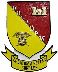 DOL DPW Seal Plaque