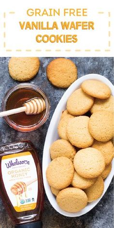 The secret ingredient for making the perfect grain-free and paleo treats? Wholesome Organic Honey of course! Check out the full recipe for Vanilla Wafer Cookies to enjoy grain-free snacking with the help of these light, crisp, sweet, and buttery bites. Whether it's a holiday cookie exchange or your annual festive party, you'll love having a dessert idea you can feel good about serving your friends and family!