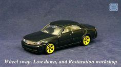 TOMICA 032F NISSAN GLORIA Y34 #WHEELSWAP #LOWDOWN | v.26 | 5 HALLS YELLOW Old Models, Diecast, Nissan, Auction, Yellow, Ebay