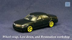 TOMICA 032F NISSAN GLORIA Y34 #WHEELSWAP #LOWDOWN | v.26 | 5 HALLS YELLOW
