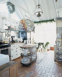 Pictures of Country Kitchens – Inspiring Rustic Country Kitchens - ELLE DECOR