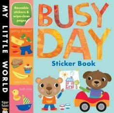 Busy Day Sticker Book