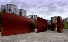 Olympic Sculpture Park in Seattle, Washington.