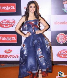 A Strapless Dress Formal, Formal Dresses, Choice Awards, Alia Bhatt, Bollywood Actress, Most Beautiful, Actresses, Indian, Stylish