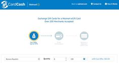If you have a few gift cards you don't want, CardCash.com now lets you trade them for Walmart gift cards, giving you more for your money than its regular gift card exchange.