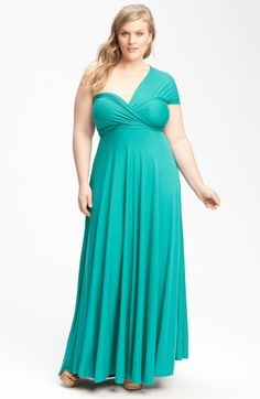 Monif C 'Marilyn' Convertible Jersey Gown (Plus) available at Nordstrom