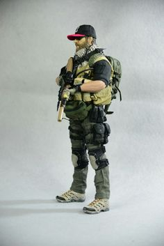 Military Action Figures, Custom Action Figures, Gi Joe 1, Private Military Company, Military Drawings, Delta Force, Future Soldier, Military Gear, Star Wars Toys