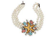 Vrba Starfish Necklace