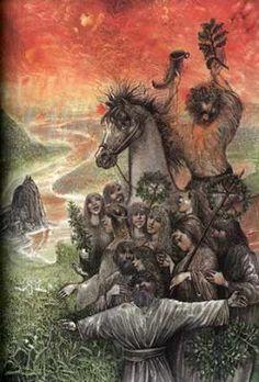 Yarilo tornou-se um belo jovem deus associado à agricultura e à primavera. Não se sabe dizer se ele tinha traços humanos ou se era um centauro.