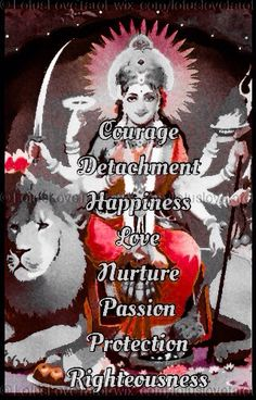 Today may Goddess Durga protect you and bless you with nurturing love so that you may have the courage to be detached from negative vibrations and to be righteous in your quest for happiness.  http://lotuslovetarot.tumblr.com/post/103210568808/the-daily-div-11-21-14 #thedailydiv #dailydivination #Durga #protection #progress #Scorpio #Moon #healing #transformation #LotusLoveTarot #lotus #love #spiritualadvisor #healer #tarot #Reiki #yoga #meditation #prayer #astrology #numerology…