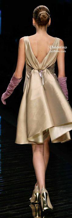 Valentino Neutral Embroidered Formal Wear & Long Violet Gloves