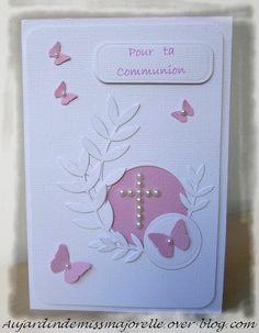 cartes de premiere communion
