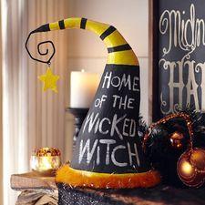 Wicked Chalkboard Witch Hat