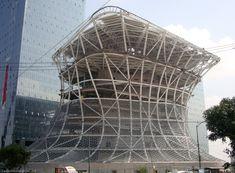 The Museo Soumaya, by Fernando Romero, 2013. Mexico City.