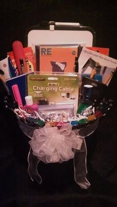Silent Auction Basket Ideas - College Starter Kit by Maria Rosa nAuXn