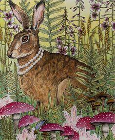 Just finished ☺ #dagdrömmar #dagdrommar #hannakarlzon #coloring #coloringbook #adultcoloringbook #adultcoloring #pencils #fabercastell #polychromos #animals #drawing