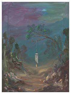 Ozbolt Oblivion, 2007  Acrylic on icon board  40.5 x 30.5 cm / 16 x 12 in