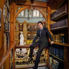 Justin Trudeau, photographed in the Library of Parliament, in Ottawa, Ontario.