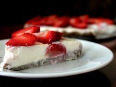 Nejlepší fitness cheesecake bez cukru Clean Recipes, Sweet Recipes, Cooking Recipes, Healthy Recipes, Healthy Deserts, Healthy Sweets, I Love Food, Good Food, Yummy Food